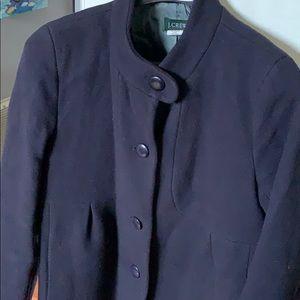 J. Crew high neck car coat, 10